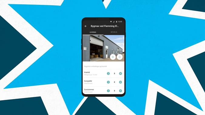 A smart app for delivery drivers